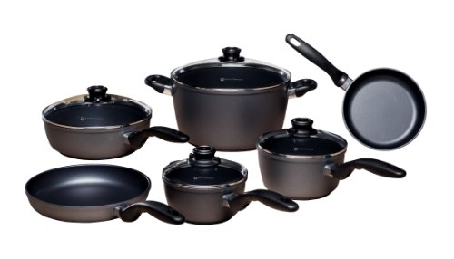Swiss Diamond 10 Piece Set: Ultimate Kitchen Kit