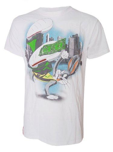 para-hombre-break-dance-bugs-bunny-con-licencia-oficial-de-looney-tunes-t-camiseta-de-manga-corta-de