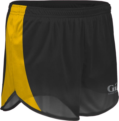 "TR687 Adult Men's 5"" Lightweight Track Short with Side Panels and Inner Brief"