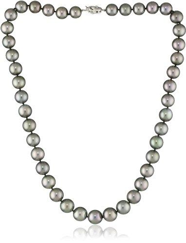 TARA Pearls Tahitian Black 10.5x9.0mm Pearl Necklace
