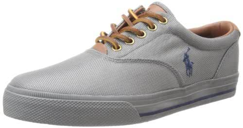 Polo Ralph Lauren Men S Vaughn Fashion Sneaker Grey