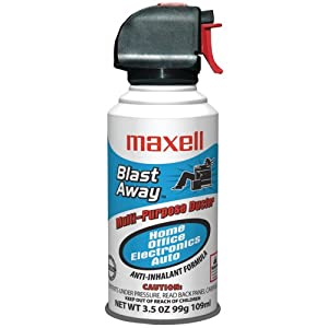 MAXELL 190027 - CA5 MINI BLAST AWAY CANNED AIR