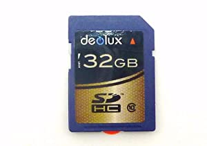Deolux 32GB for GE G1 digital Camera Camcorder Video 32GB Memory Card SD SDHC Class 10