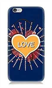 7C 3Dimensional High Quality Back cover for Apple iPhone 6 / 6s