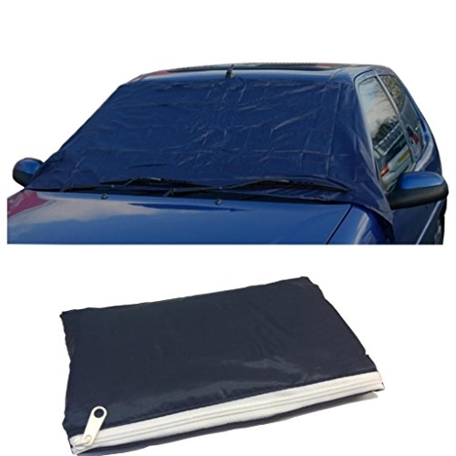 Deluxe Anti-Frost Screen Cover - Wind Screen Frost & Ice Protector Shield