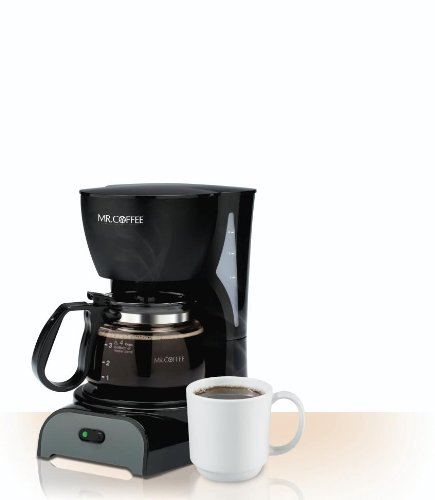 Mr coffee dr5 4 cup coffeemaker black new free for Best apartment coffee maker