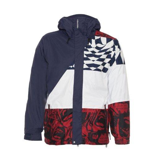 Volcom Johnny Snowboard Jacket Navy Mens Sz XL Volcom B00CF5O5HW