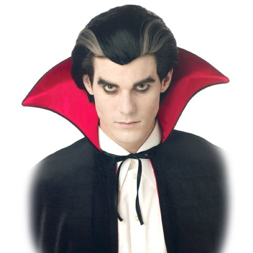 California Costumes Men's Modern Vampire Wig,Black,One Size