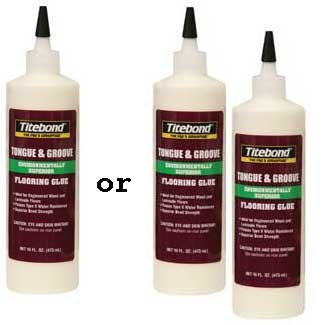 Franklin Titebond Tongue Groove Flooring Glue 2104 Laminate