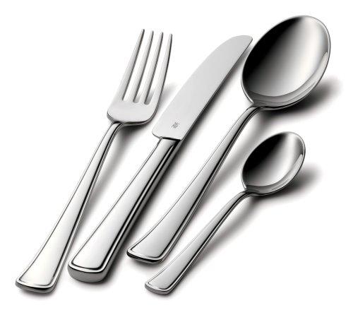 WMF 44 pce Aston, Cromargan 18/10 stainless steel cutlery set