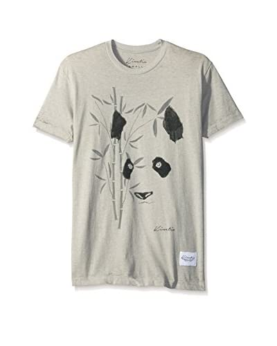 Kinetix Men's Panda Short Sleeve T-Shirt
