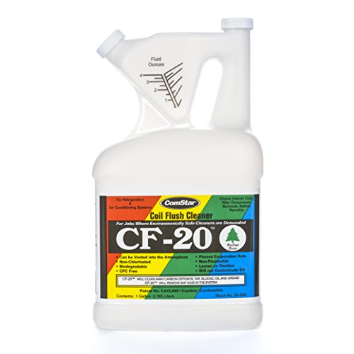 ComStar 90-500 CF-20 Internal Refrigeration Coil System Cleaner, 1 gal Container, Clear (Refrigerant Reclaim compare prices)