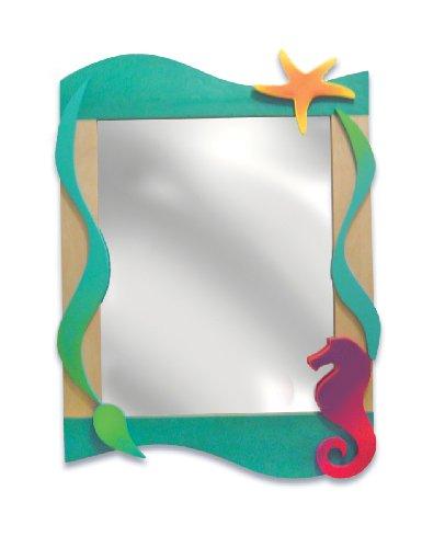 Room Magic RM10-TS Wall Mirror, Tropical Seas
