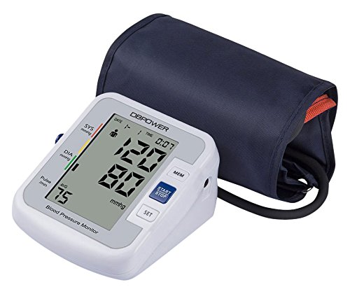 DBPOWER Upper Arm Blood Pressure Monitor with IHB and WHO indicator, Cuff...