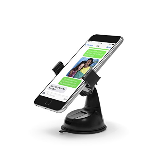 power-theory-car-phone-holder-universal-car-mount-includes-3m-dashboard-stick-pad-for-uneven-surface