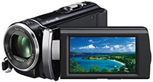 "Sony HDR-PJ200E Full HD PAL Camcorder, 1920x1080 / 60i Recording, 5.3 Megapixel, 25x Optical Zoom, 2.7"" Touch Panel LCD Display, Black"