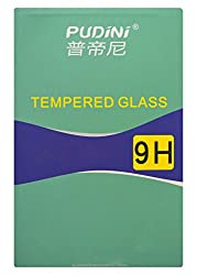 Pudini Tempered Glass Screen Protector / Guard for Lenovo A7000 / Lenovo K3 Note ( 9H Hardness & 2.5D Curved )
