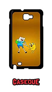 Caseque Finn And Jack Adventure Back Shell Case Cover For Samsung Galaxy Note 1
