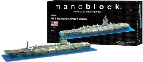 Nanoblock USS Enterprise Aircraft Carrier by Ohio Art