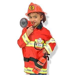 Melissa Doug Fire Chief Role Play Costume Set by Melissa & Doug