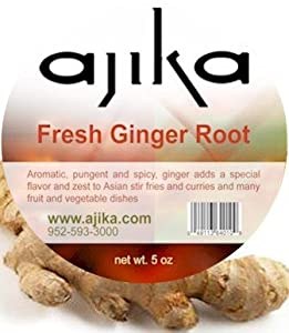 Ajika Fresh Ginger Root used in Asian, Thai, Chinese and Indian Cuisines - Ships out on Tuesdays