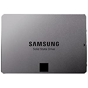 Samsung MZ-7TE250BW Serie 840 EVO Basic interne SSD (6,3 cm (2,5 Zoll), 250GB, 512MB Cache, SATA III) metallic silber