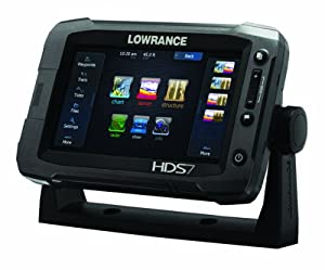 Lowrance HDS-7 Gen2 Touchscreen Charplotter with 83 200 KHz Skimmer by Lowrance