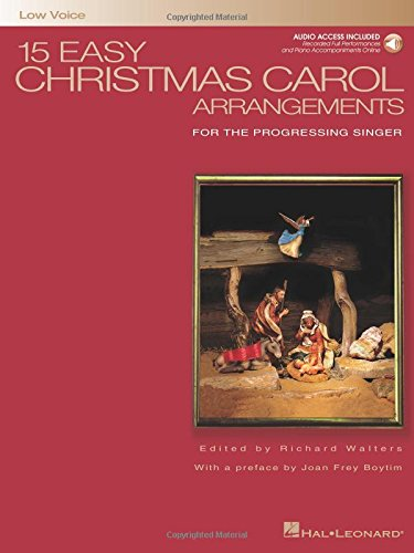 15-easy-christmas-carol-arrangements-low-voice-book-cd-low-voice-for-the-progressing-singer