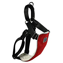 Canine Equipment 3/4-Inch No Pull Harness Small, Red