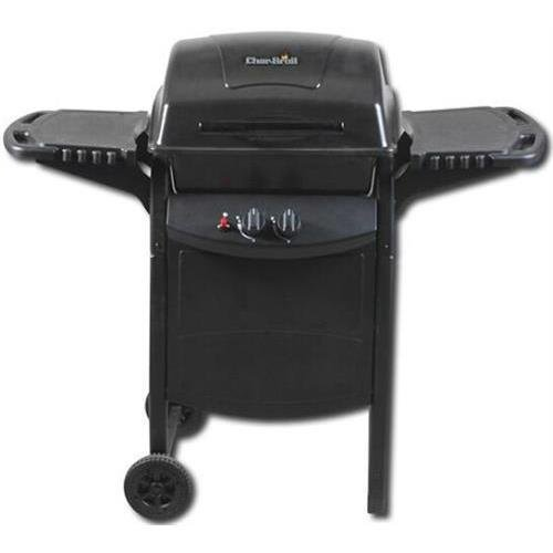Char-Broil 463620414 Gas Grill, 2-Burner, 280 sq. in. (Black)
