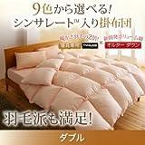 9色から選べる シンサレート入り掛け布団 ダブル (色:アイボリー) tu-38737  寝具専用シンサレート™を使用 掛布団