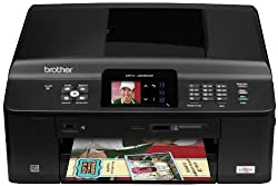 Brother Printer MFCJ625DW Wireless Color Photo Printer with Scanner, Copier and Fax