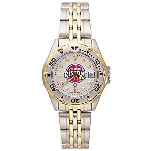 NSNSW21959Q-Ladies All Star Detroit Pistons Watch - Stainless Steel by NBA Officially Licensed