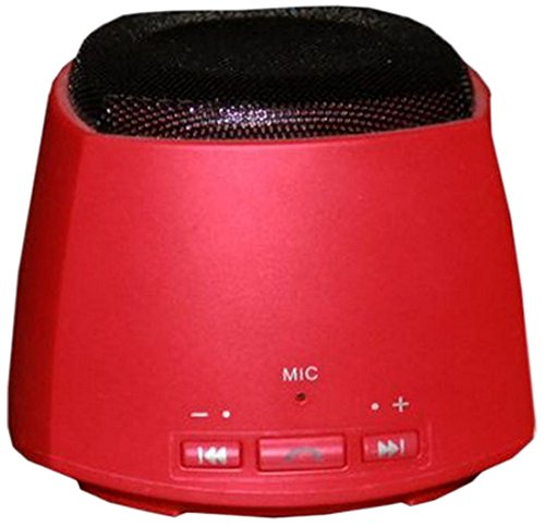 Nutek BT106M3 Bluetooth Speaker, Mic (Red)
