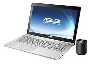 Asus N550JK-CN042H 39,6 cm (15,6 Zoll) Notebook (Intel Core i7 4700HQ, 2,4GHz, 8GB RAM, 1TB HDD, NVIDIA GTX 850M, DVD, Win 8) silber