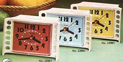Westclox 22005 Tide- II Drowse Alarm Clock Vintage 1975
