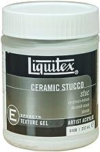 Liquitex 6408 - Médium efectos estuco cerámico profesional, 237 ml