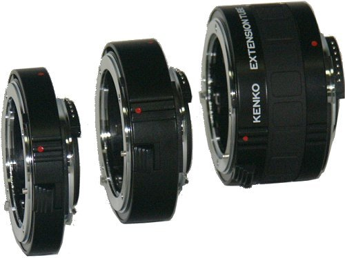 Kenko DG Auto Extension Tube Set for the Nikon AF Mount