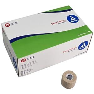 Dynarex YDS Sensi-Wrap Self Adherent Bandage, 2 Inch x 5 Inch, 36 Count (Pack of 36)