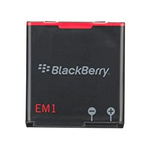 RIM E-M1 Original Standard Battery for BlackBerry Curve 9350/9360/9370 Mobile Smartphones - Non-Retail Packaging - Black