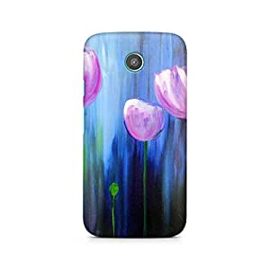 Mobicture Girl Abstract Premium Printed Case For Moto G2