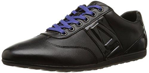 Azzaro - Parker, Sneakers da uomo, nero (noir/vernis noir), 44