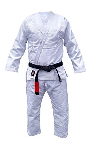 Your Jiu Jitsu Gear Brazilian Jiu Jitsu Uniform A1 White with BJJ White Belt