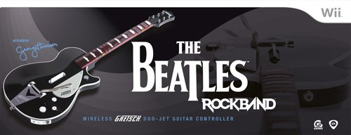 41NixU5IHlL Reviews The Beatles: Rock Band Wii Wireless Gretsch Duo Jet Guitar Controller