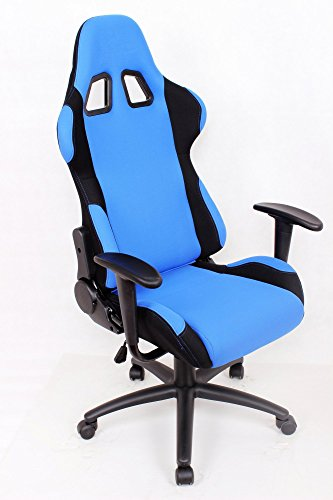 ez lounge racing car seat office jeep gaming chair blue black furniture chairs chairs. Black Bedroom Furniture Sets. Home Design Ideas