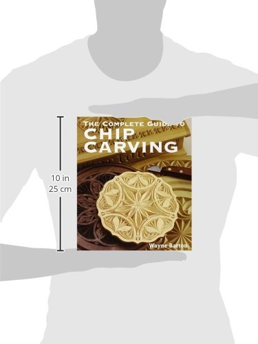 Libro the complete guide to chip carving di wayne barton