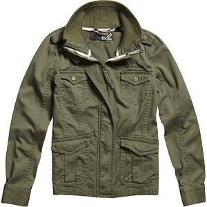 Fox Racing Women's Duster Jacket - Large/Olive Green