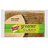 MMM97033 - Greener Clean Non-Scratch Scrub Sponge
