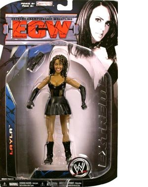 Picture of Jakks Pacific W ECW Series 3 Action Figure: Layla (B0014F4ZRE) (Jakks Pacific Action Figures)