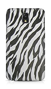 AMEZ Zebra Back Cover For Samsung Galaxy Note 3